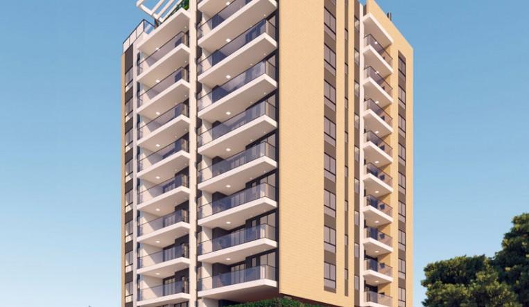 Foto - Apartamento com 2 suítes a 100 metros da praia